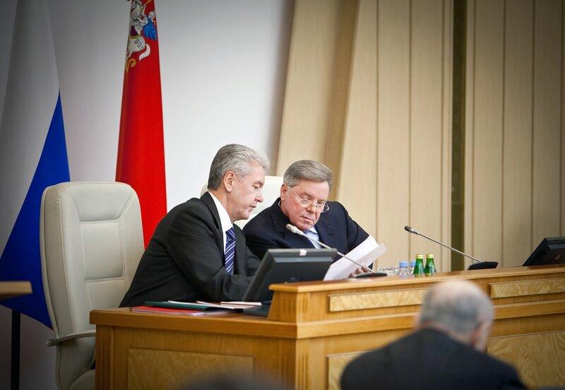 Собянин и Громов