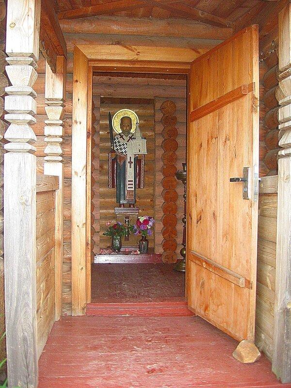 Зима-лето,с.Остров,подворье,православные святыни