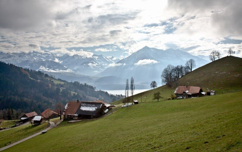 Швейцария, Берн и окрестности. фото.