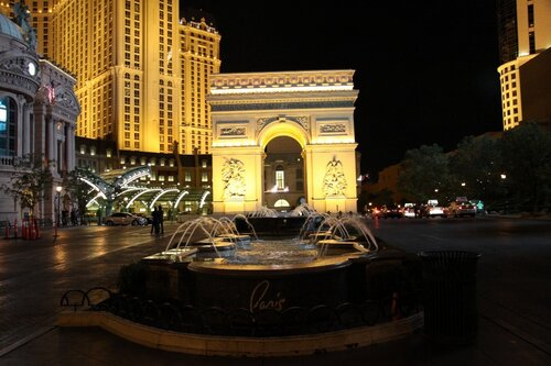 триумфальная арка, лас-вегас