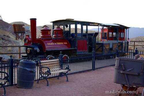 Калико, калифорния, город-призрак, сша, calico, usa, ghost town, поезд, train