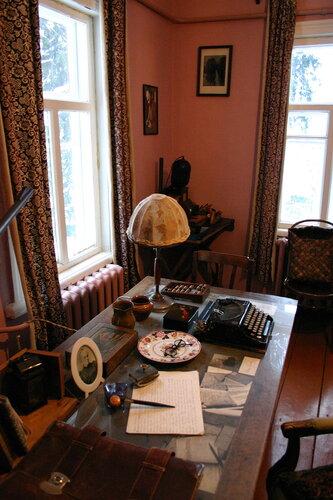 Рабочий стол М.М. Пришвина