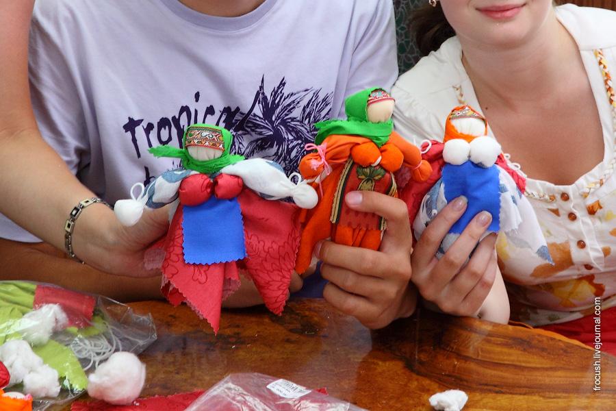Мастер-класс по изготовлению тряпичной куклы с Екатериной
