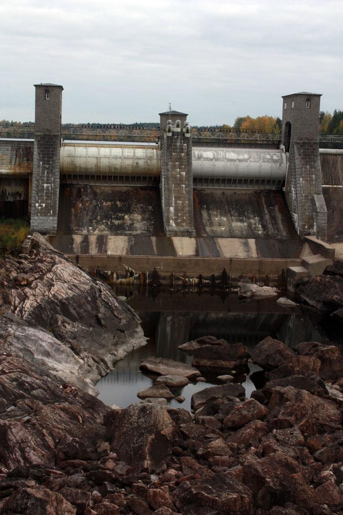 Гидроэлектростанция в Иматре.
