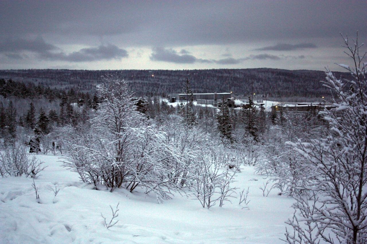 северный пейзаж