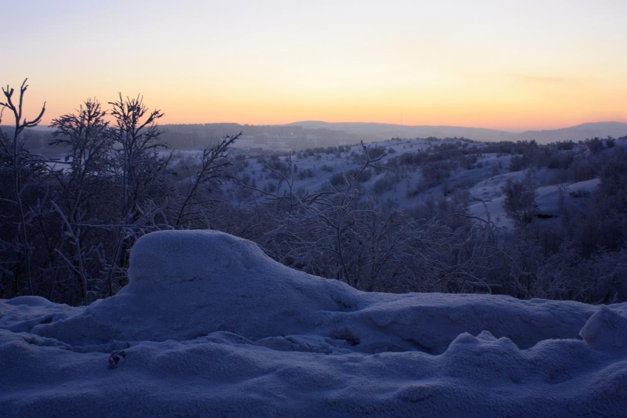 Зимняя сказка,Мурманск