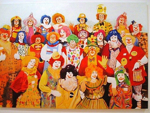 clowns Bruno_Pacheco Happy_Hour Belem CCB Lisbon Portugal