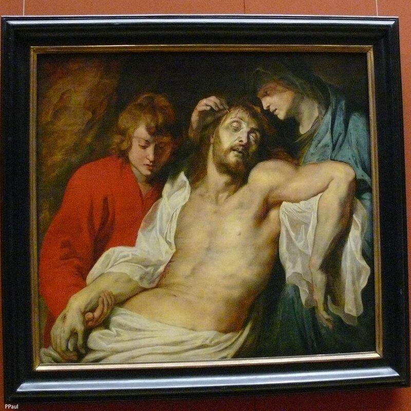 """Петер Рубенс """"Христос с Марией и Иоанном"""" 1614-15"""