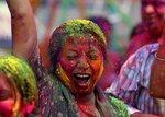 индийский фестиваль ХОЛИ в Москве!