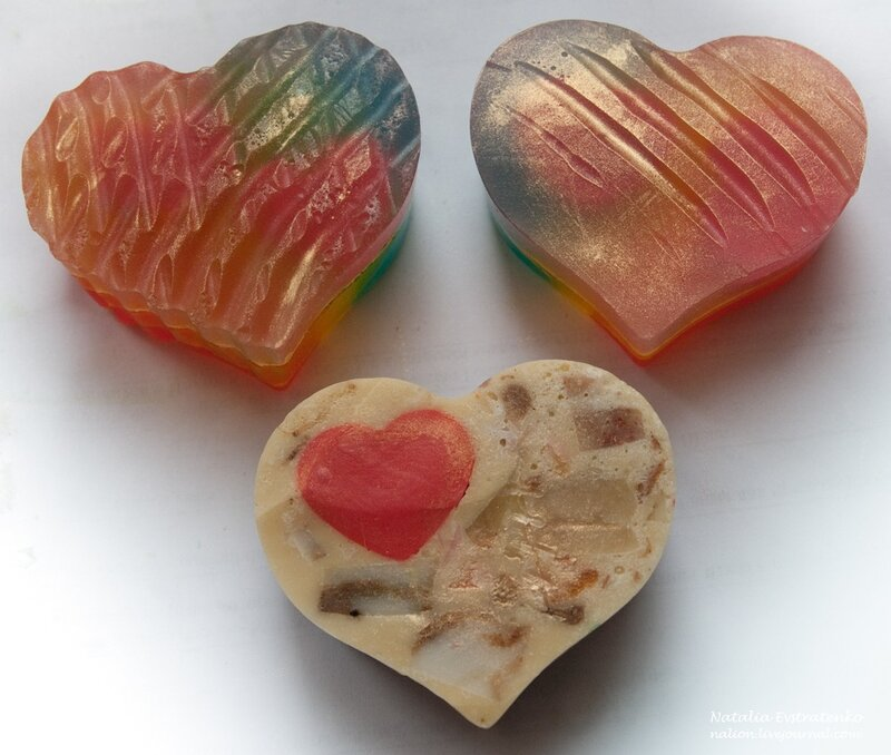 сердце, день святого Валентина, любовь, мыло, 14 февраля