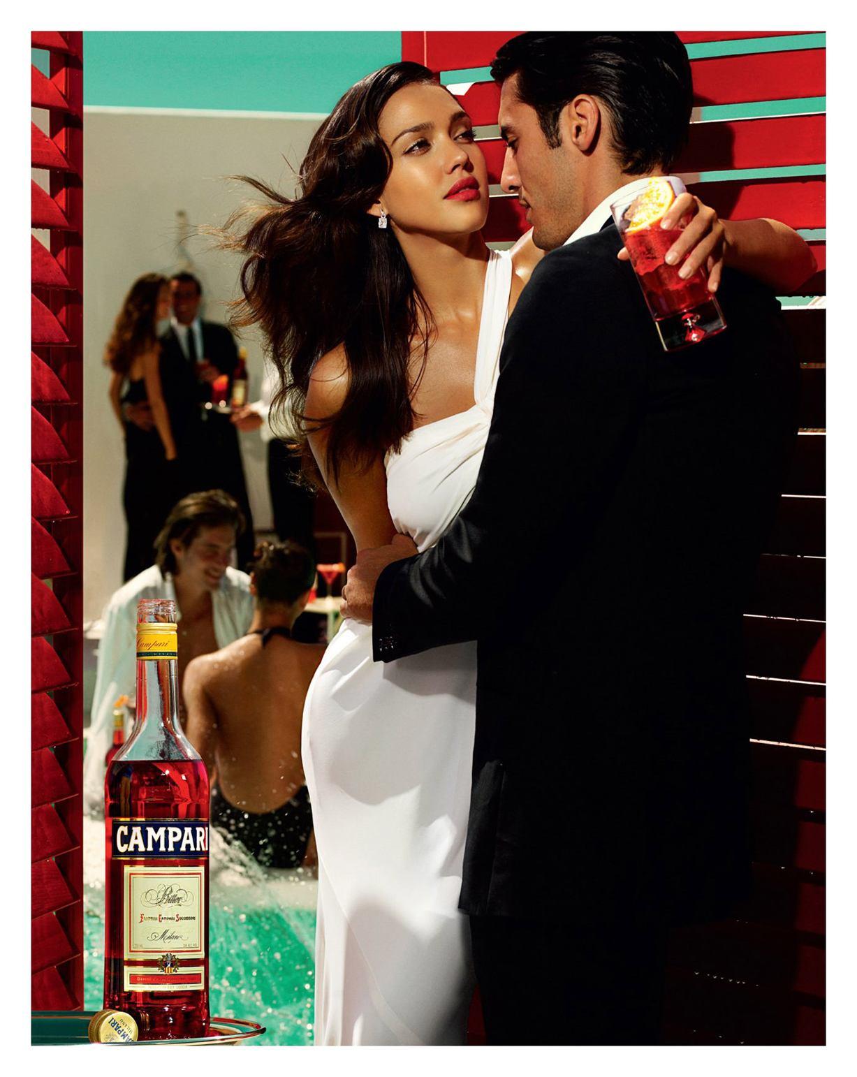 Jessica Alba / Джессика Альба на календаре Campari 2009