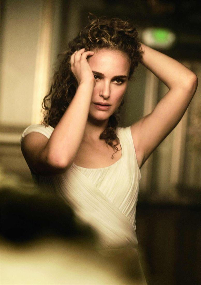 модель Натали Портман / Natalie Portman, фотограф Peter Lindbergh