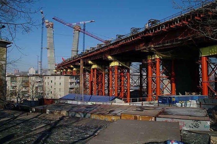Мосты Владивостока: через бухту Золотой рог