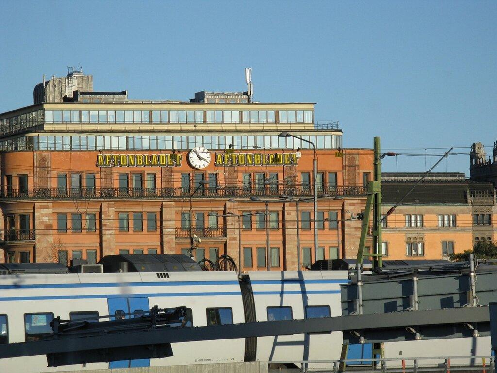 Autumn In Stockholm. Gamla Stan