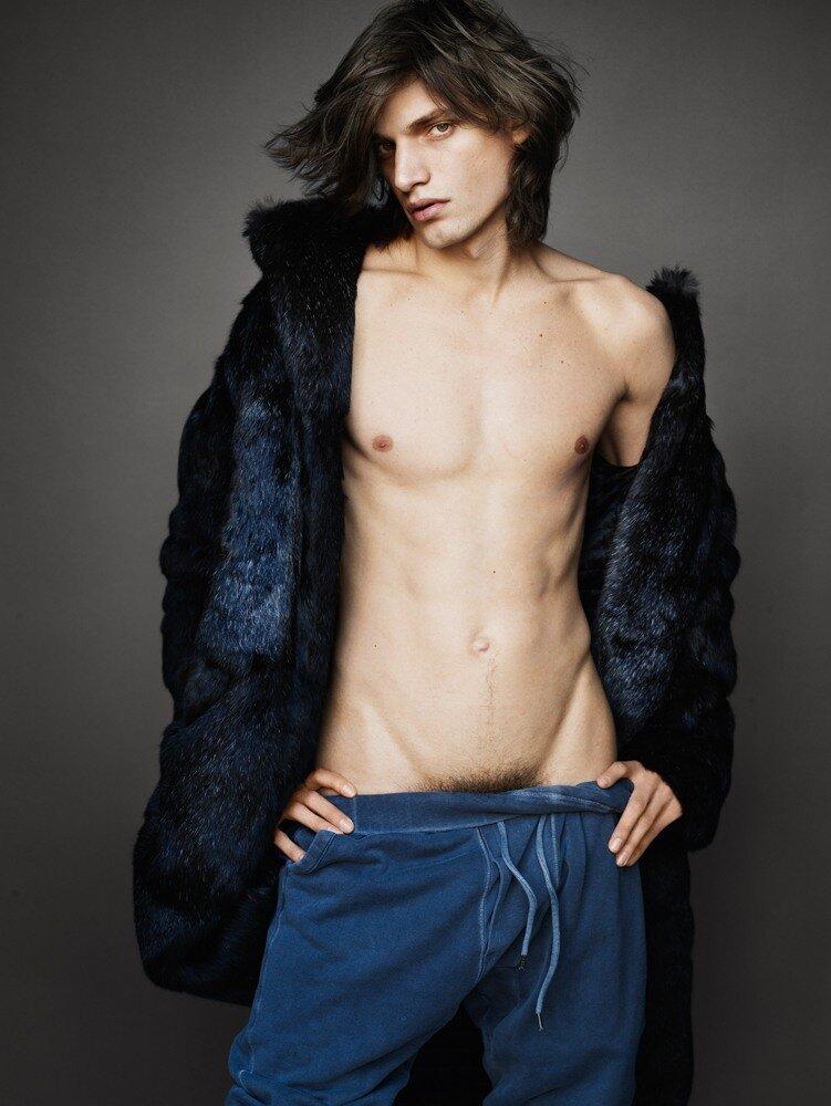 Fur Men by Mario Testino for Vogue