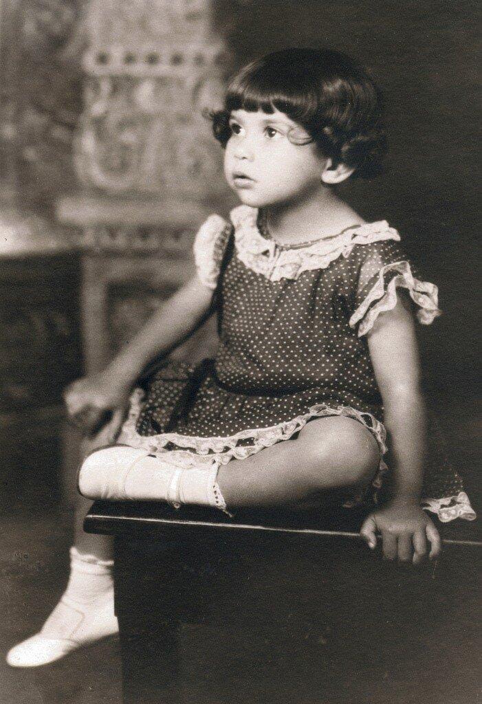 Phyllis Kelson, age 4