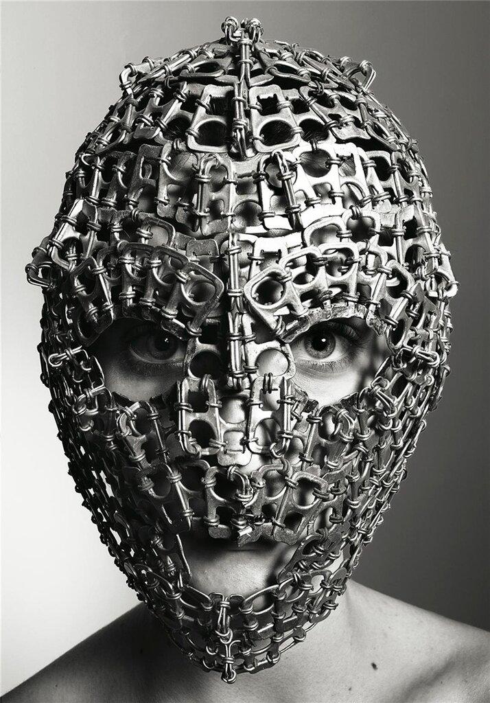 Masks by Richard Burbridge