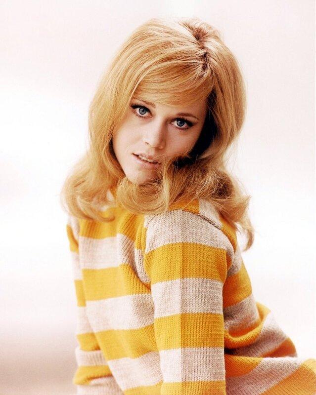 American actress Jane Fonda,1970.