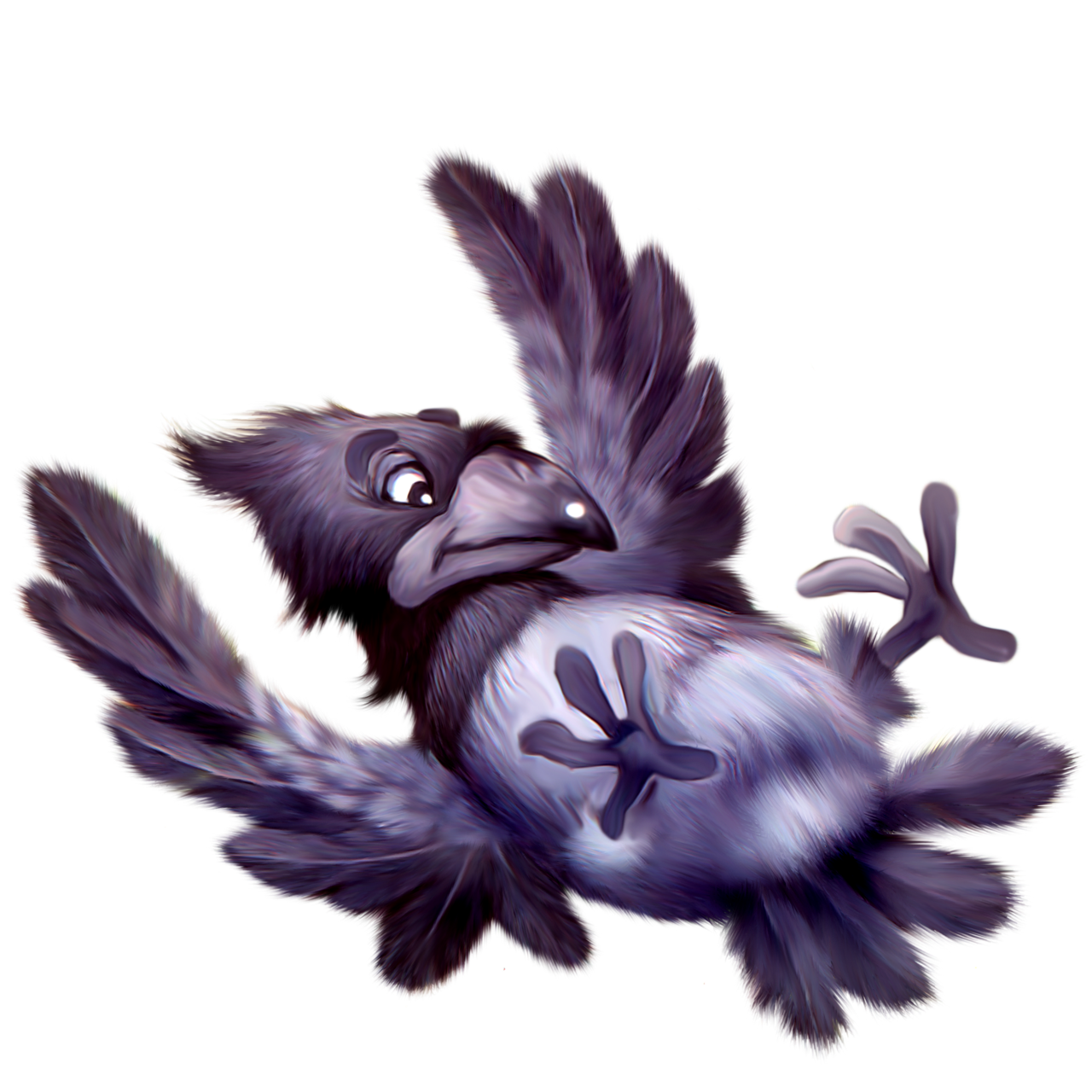 Картинка сумашедшая птица