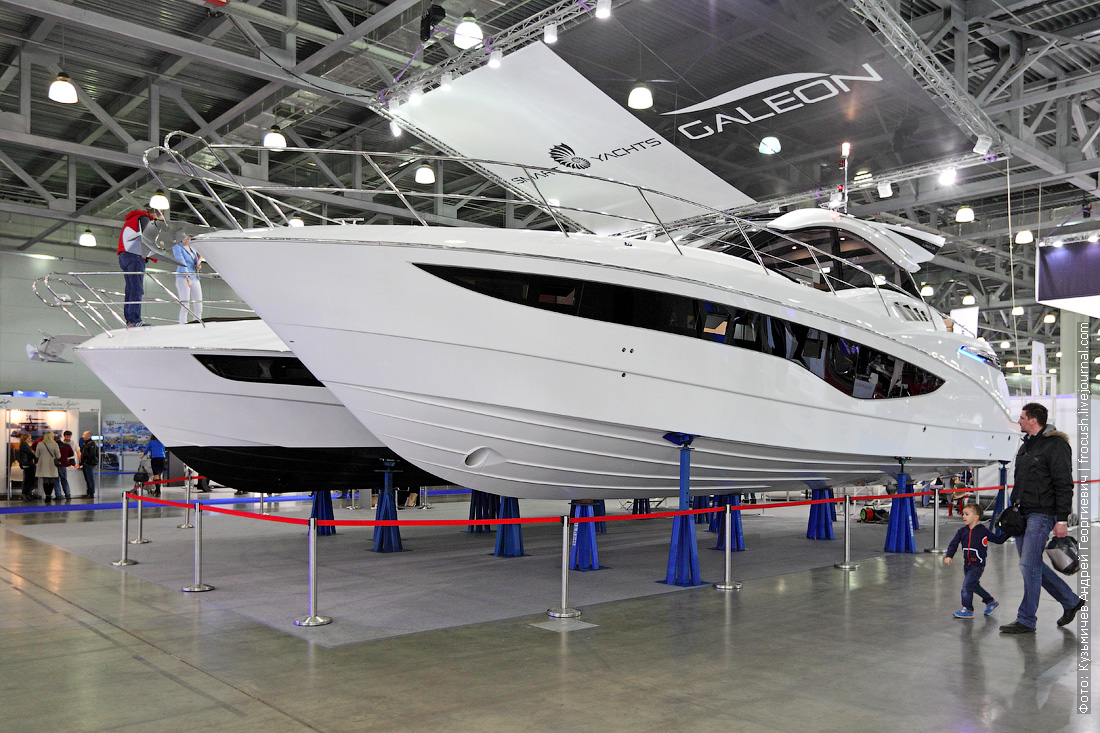 Galeon 445 Hts Moscow Boat Show