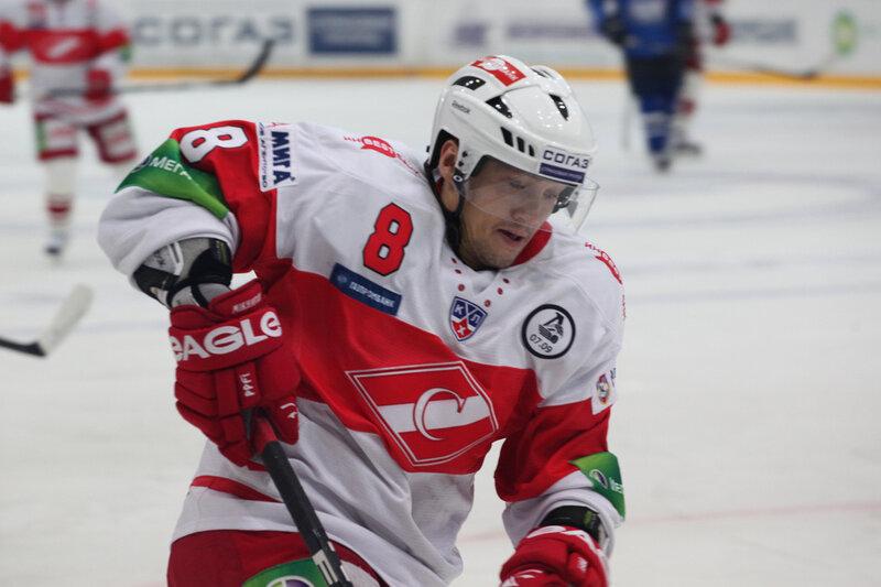 «Нефтехимик» vs «Спартак» 2:1 Б чемпионат КХЛ 2011-2012 (Фото)