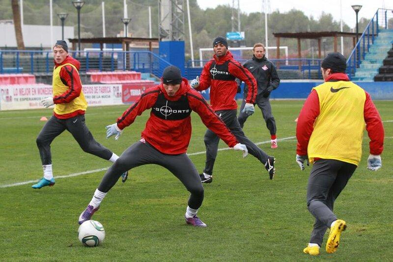 «Спартак» тренируется в Испании (Фото)