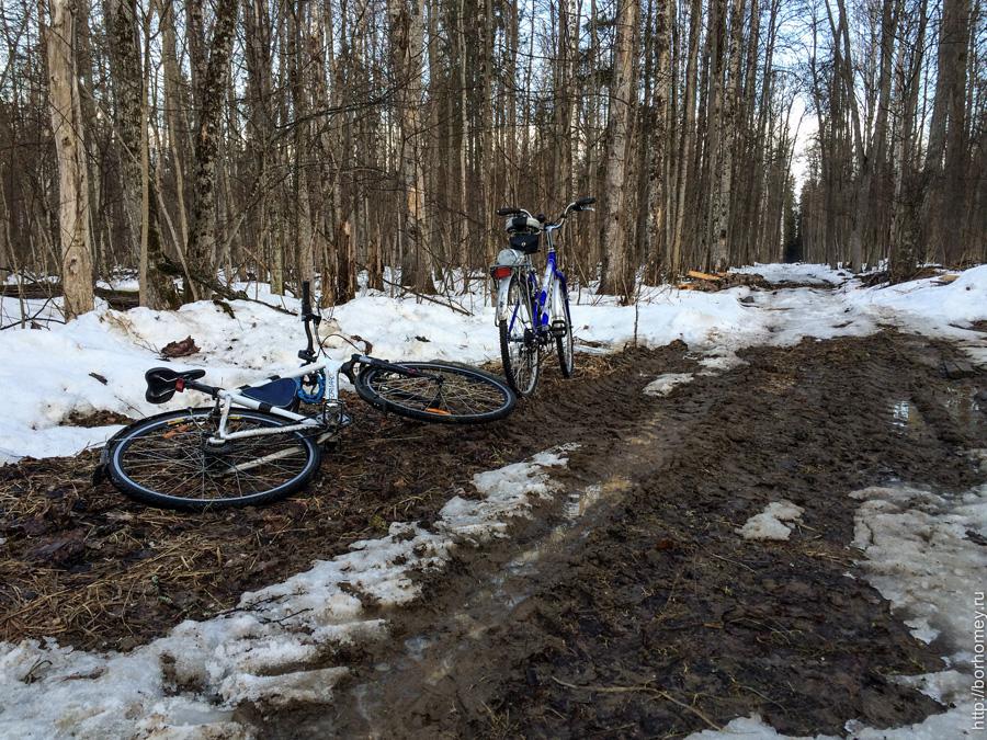 велосипеды в грязи