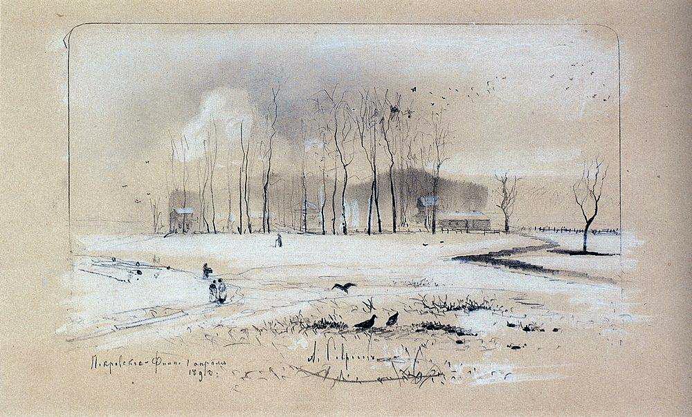 Вид на село Покровское- Фили. 1893.jpg