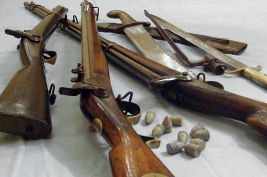 Виды личного оружия в армии Российской империи