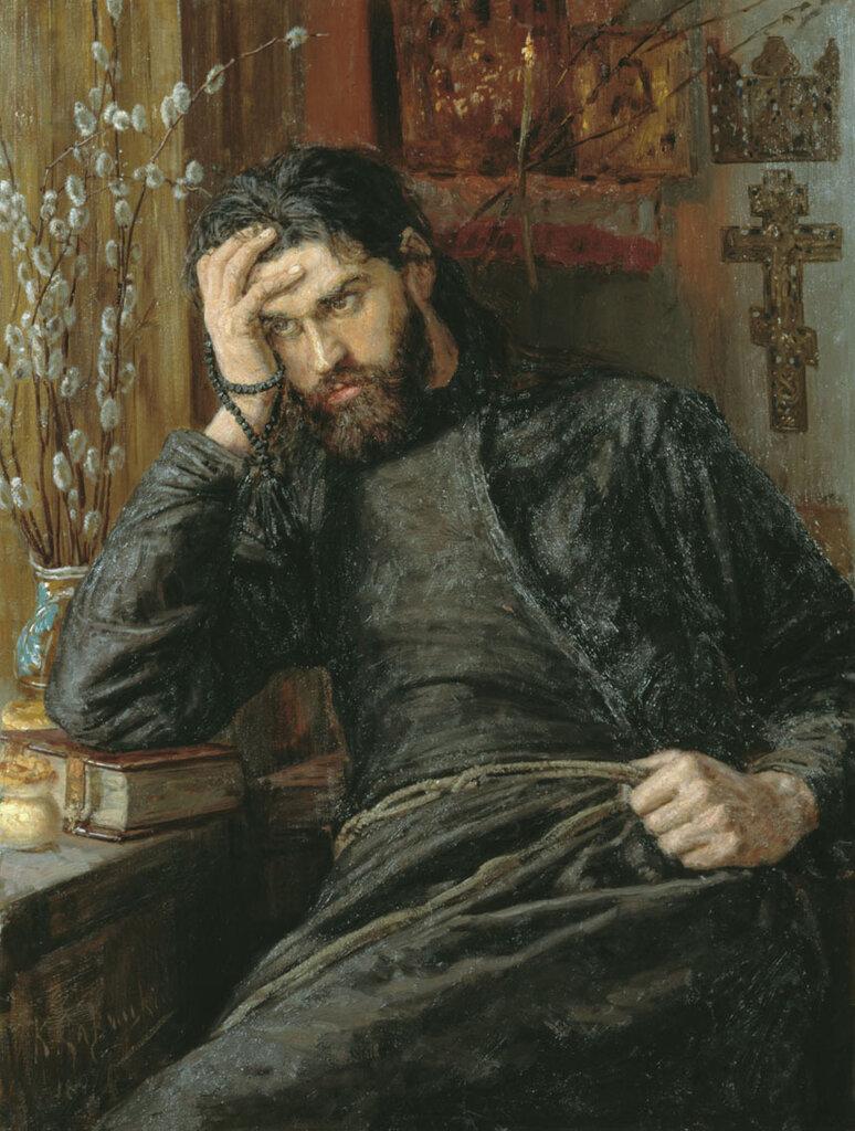 Константин Савицкий - Инок, 1897 г.