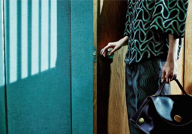 Рианна Тен Хакен (Rianne Ten Haken) в октябрьском номере журнала Numero China