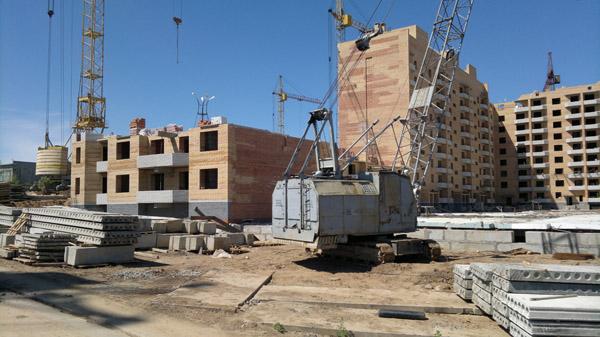 Темпы строительства по стране снижаются