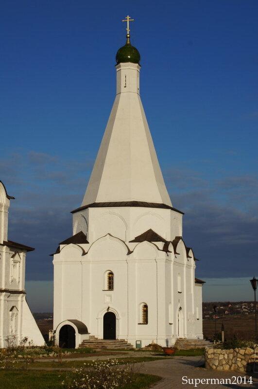 в Спасо-Преображенском Воротынском монастыре