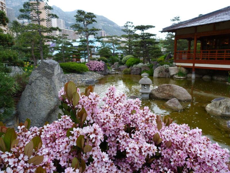 Японский сад. Монако