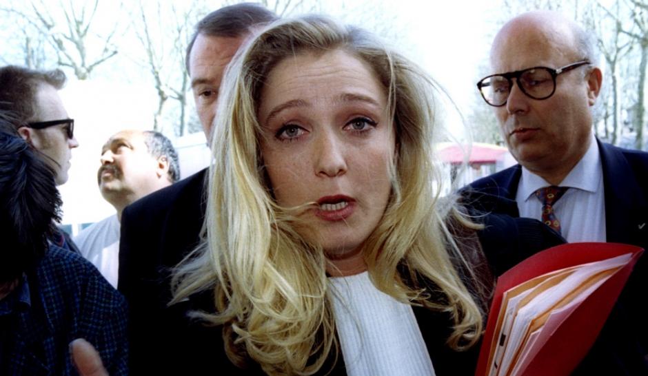 Марин  Ле Пен в молодости и не только (фото)