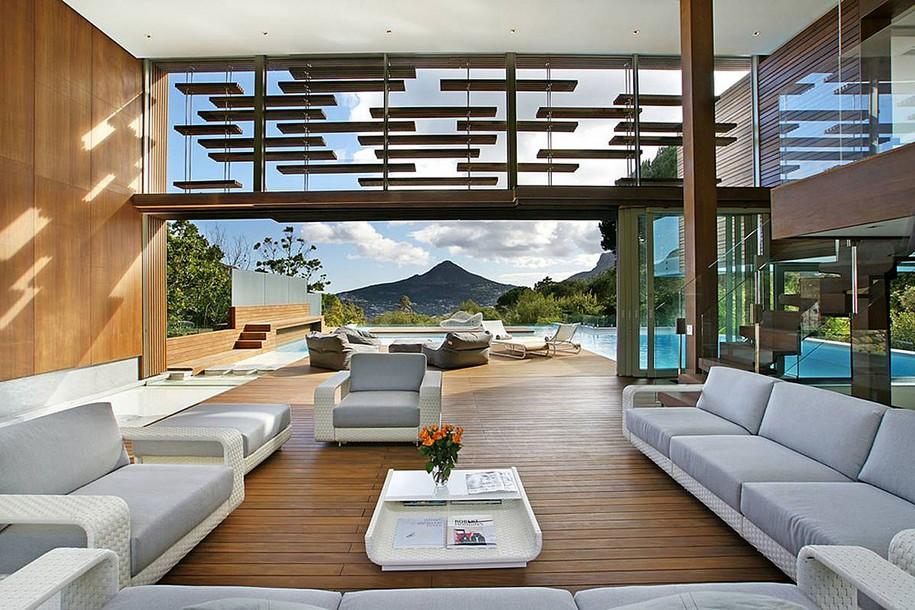 Spa House в пригороде Кейптауна от Metropolis Design