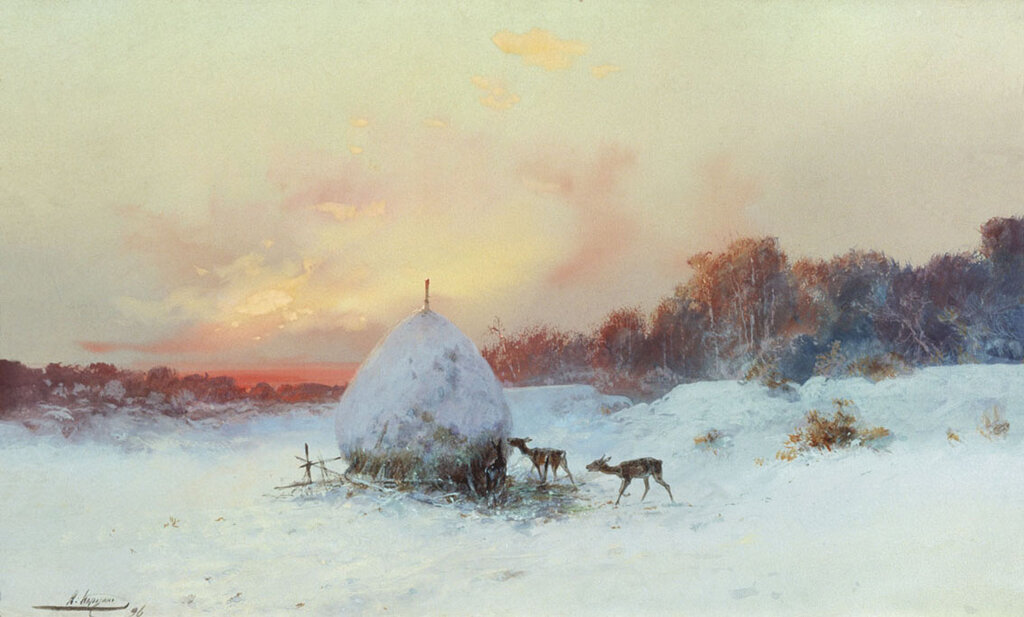 Николай Николаевич Каразин. Воры. 1896.