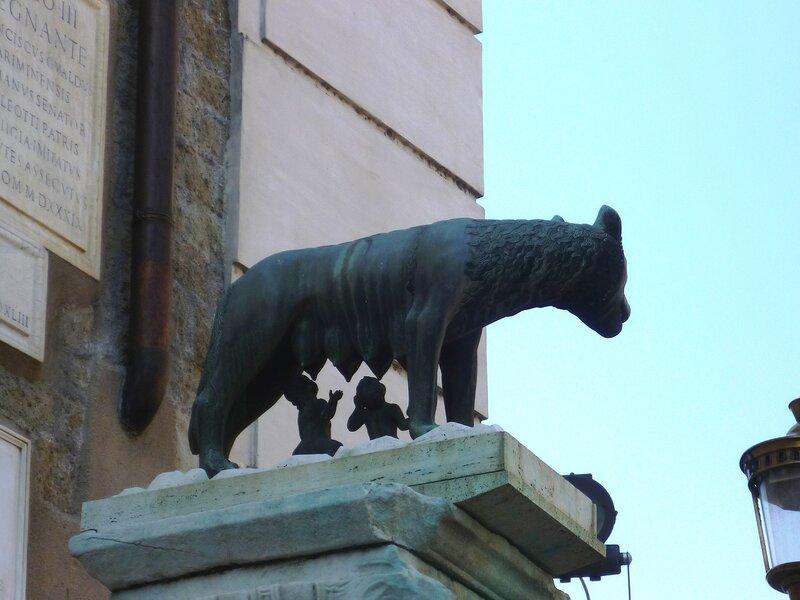 Рим. Капитолийская волчица (Rome. Lupa Capitolina)