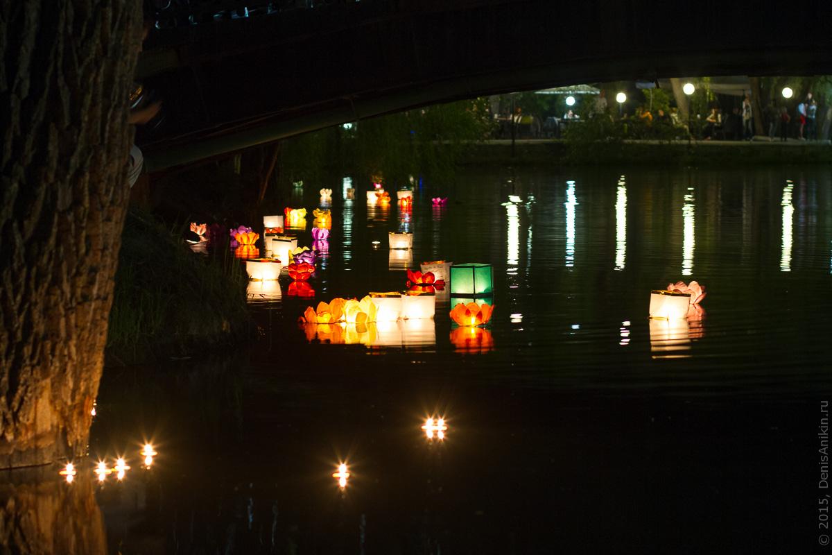 Фестиваль водных фонариков Саратов 5