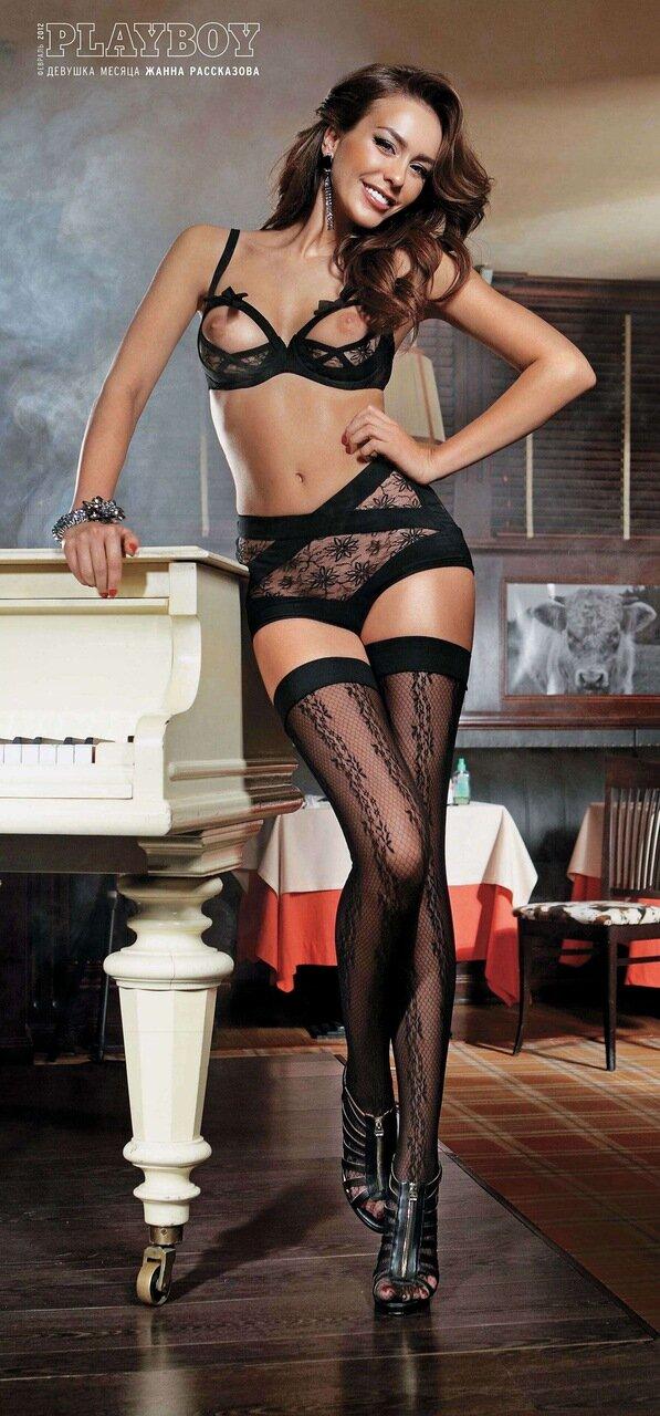 Жанна Рассказова - Девушка месяца Playboy Россия в феврале 2012 / кликабельно - 23 мегапикселя