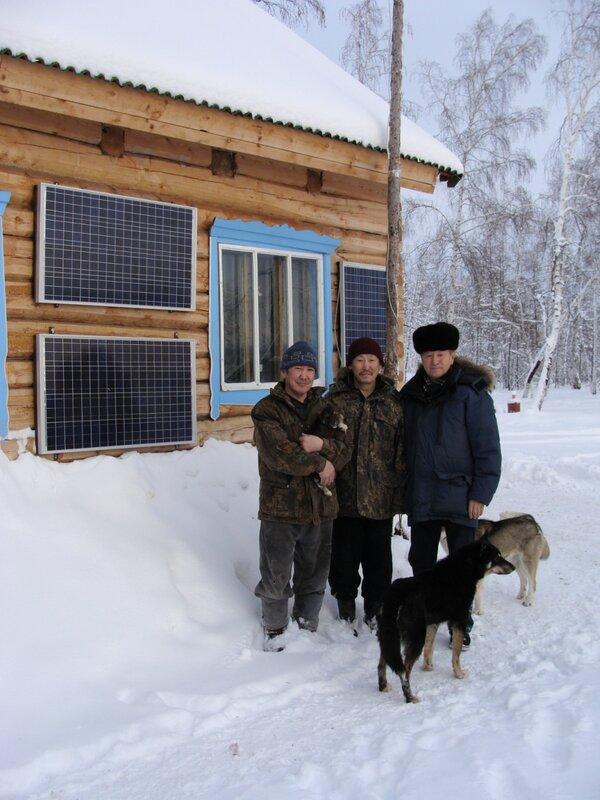 solar module - Yakutsk - Russian federation minus 34 celcium