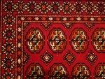узоры туркменского ковра