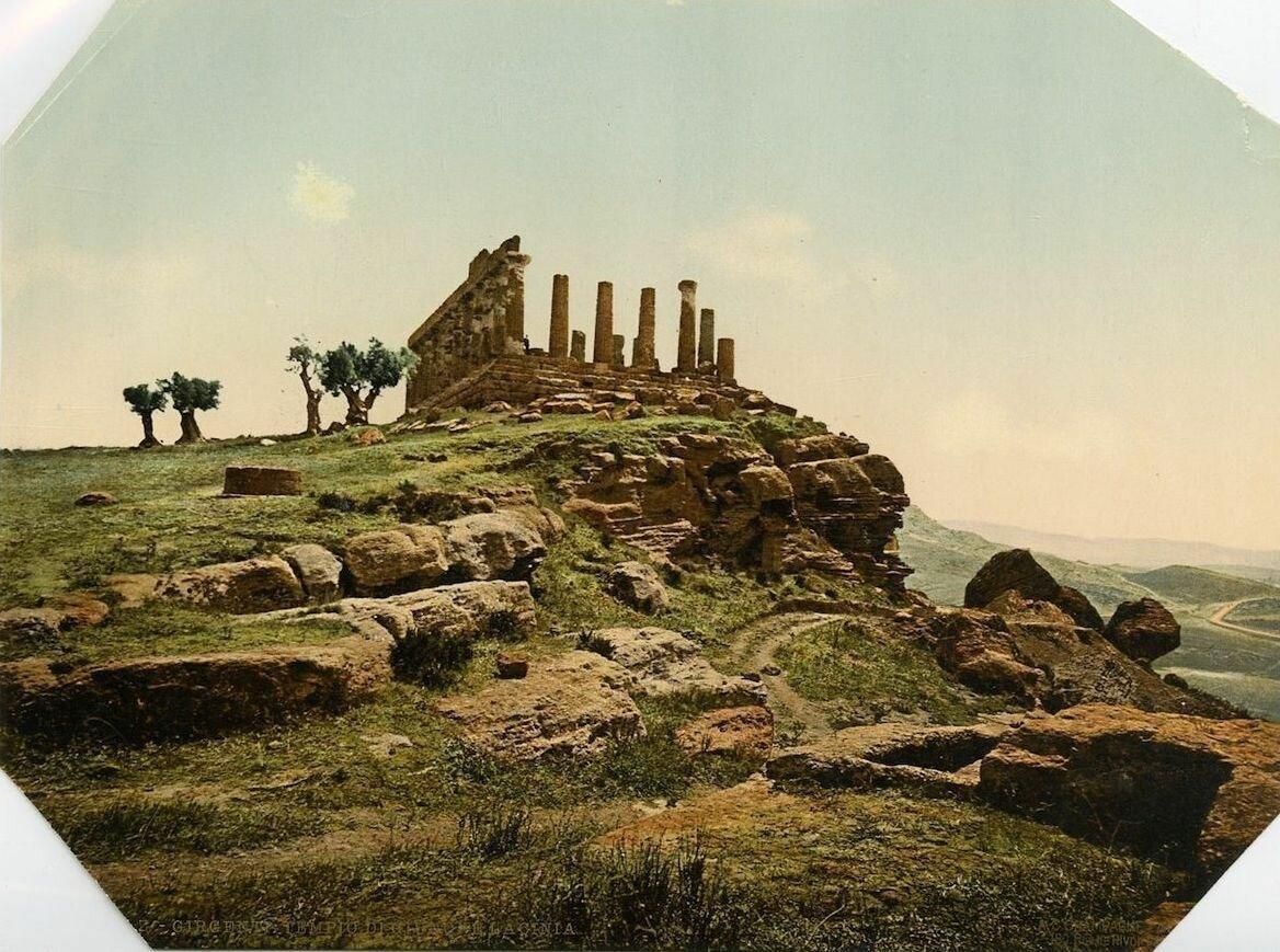 Агригентум. Храм Юноны