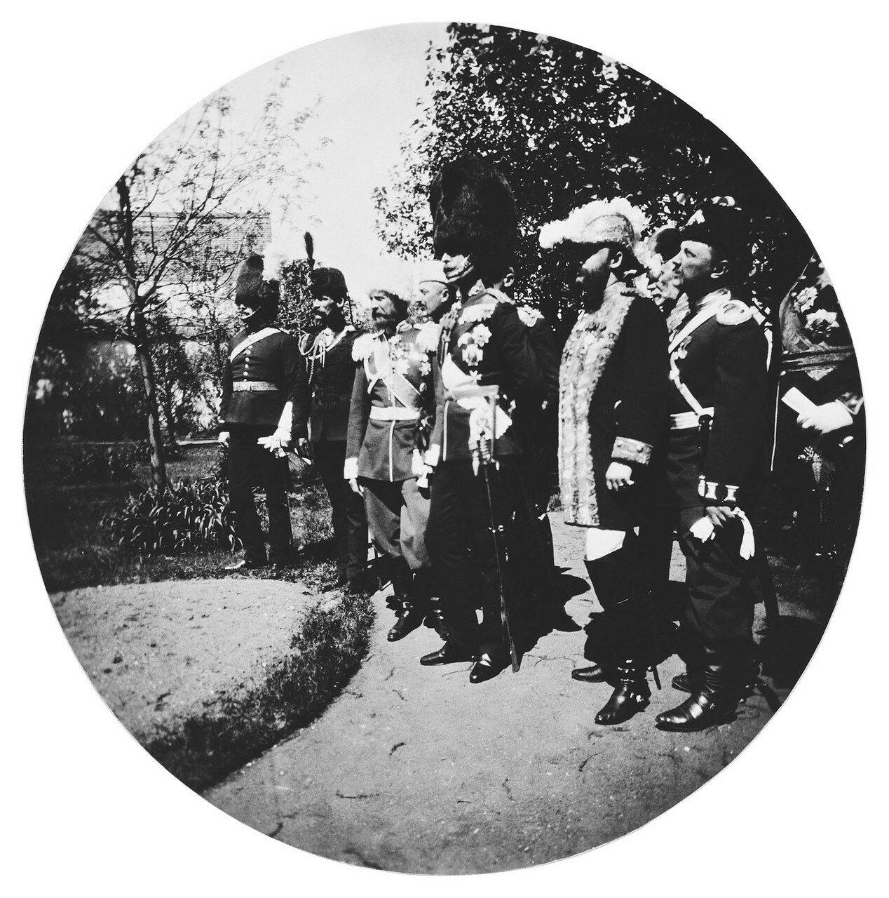 Визит герцога и герцогини Коннаутского в Москву на коронацию в мая 1896