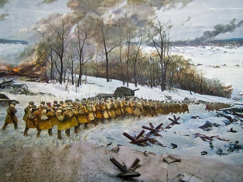 Контрнаступление советских войск под Москвой в декабре 1941 г.