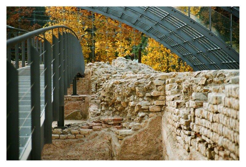 Музей римских терм. Баден-Вайлер. Южная Германия.