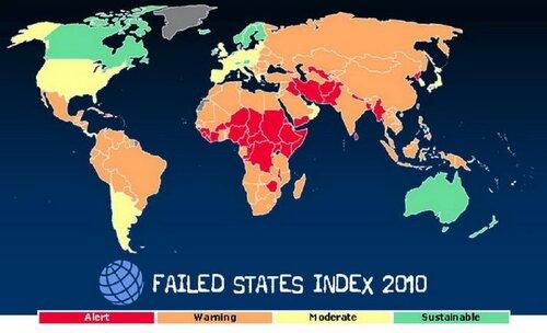 Рейтинг стабильности стран