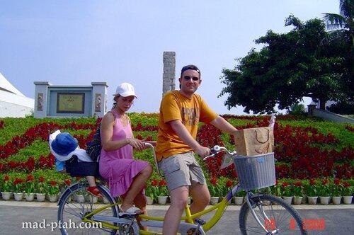 тандем, велосипед, хайнань, китай