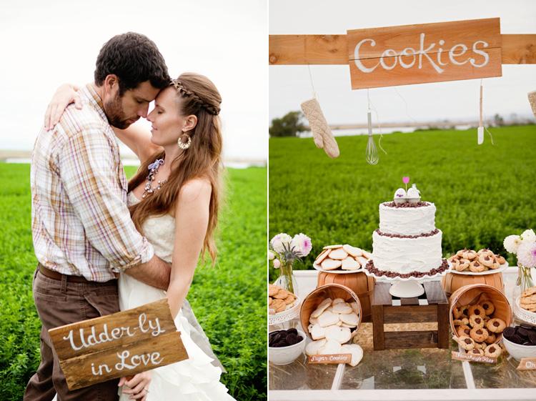 Деревенский стиль свадьбы к счастью