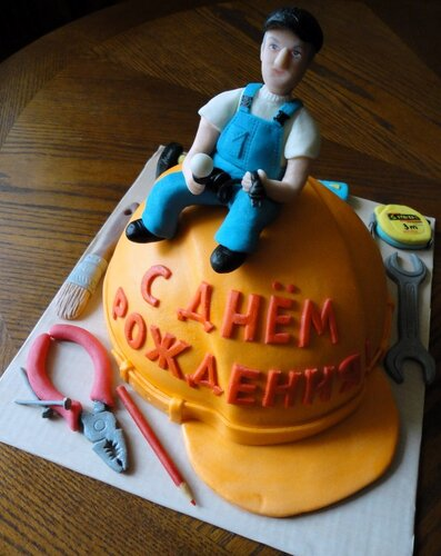 оригинальный торт папе фото